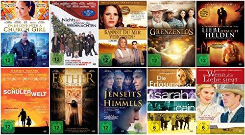 Die christliche Filme Glauben Spielfilm-Sammlung Teil 2 (10 ausgewählte Filme ) [10 DVDs]