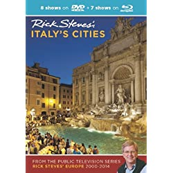Rick Steves' Italy's Cities DVD & Blu-Ray 2000–2014