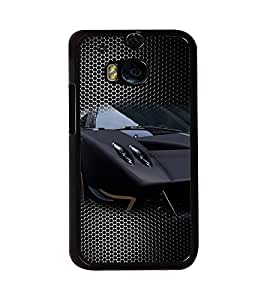 PRINTVISA Super Cars Case Cover for HTC One M8