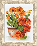 RIOLIS Nasturtiums and Marigolds