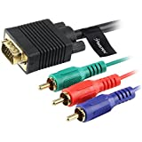 VGA to RCA Component RGB Cable - 1.8M - M/M