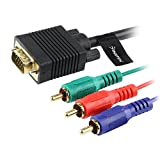 Insten® 6FT VGA/HD15/SVGA/RGB to 3 RCA COMPONENT TV/HDTV CABLE