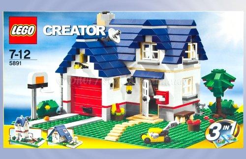 lego-creator-5891-haus-mit-garage-B00BCLAMTA
