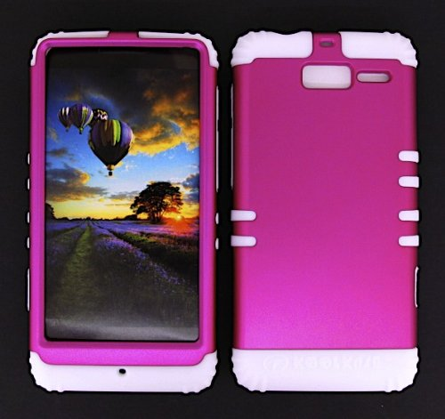 shockproof-hybrid-cell-phone-cover-protector-faceplate-hard-case-and-white-skin-with-stylus-pen-kool