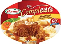 Hormel Compleats Meatloaf with Potatoes & Gravy, 10-Ounce Microwavable Bowls (Pack of 6)