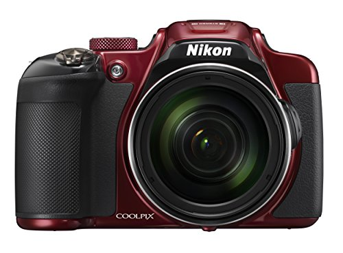 Nikon COOLPIX P610 Digital Camera with 60x Optical Zoom and Built-In Wi-Fi (Red)