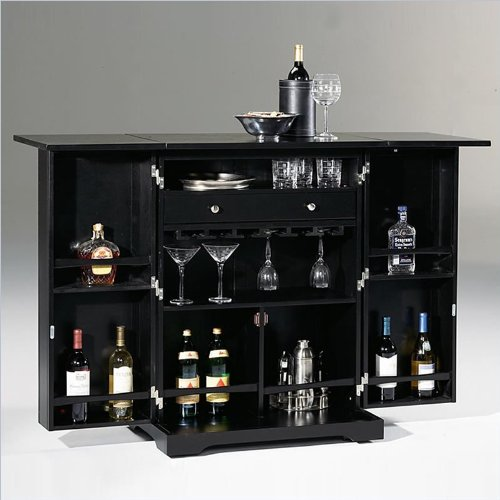 Home Bar Furniture S Home Styles Steamer Trunk Bar Wine Rack