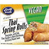 Health is Wealth Vegan Thai Spring Roll, 6.4 Ounce -- 12 per case.