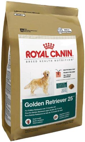Royal Canin Dry Dog Food, Golden Retriever 25 Formula, 30-Pound Bag