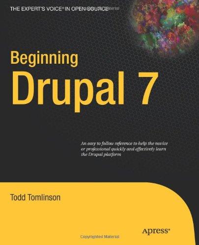 pro drupal 7 development tomlinson todd v andyk john