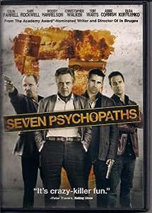 Seven Psychopaths (Dvd,2013)