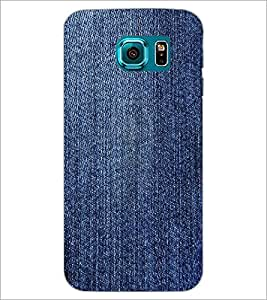 PrintDhaba Denim D-2429 Back Case Cover for SAMSUNG GALAXY S6 EDGE (Multi-Coloured)