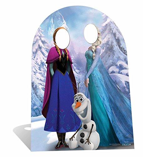 Disney - Decorado de cartón tamaño real para fotos, diseño de Frozen