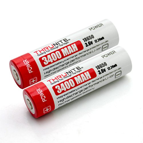 ThruNite Two Piece 3.7 V Battery Cells