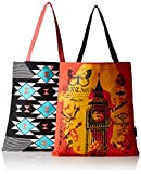 #6: Kanvas Katha Women's Combo Tote Bag (Multi-Colour) (KKBSAMZAUG002-KKBSAMZAUG008)