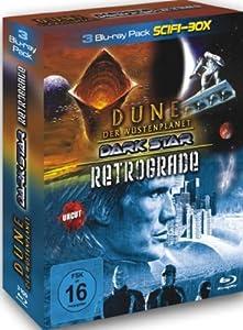 3 Blu-ray SciFi Box : Dune der Wüstenplanet - John Carpenter's Dark Star - Retrograde