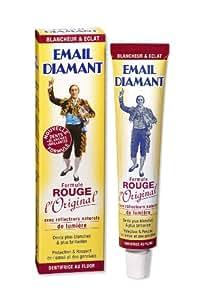 Email Diamant - 502050 - Dentifrice Blancheur - Formule Rouge - L'Original - 50 ml - Lot de 3