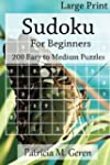 Large Print Sudoku For Beginners : 20...