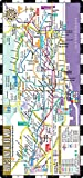 Streetwise Barcelona Metro Map - Laminated Metro Map of Barcelona Spain - Folding pocket size subway map for travel