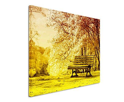 120-x-80-cm-quadro-colore-arancione-giallo-tela-su-telaio-in-migliore-qualita-fioritura-banca-fine-a