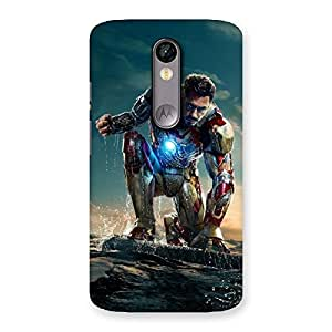 Gorgeous Ready to Sky Back Case Cover for Moto X Force
