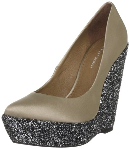 KG by Kurt Geiger Women's Hoshiko Champagne Wedge Heel 1945614979 6 UK
