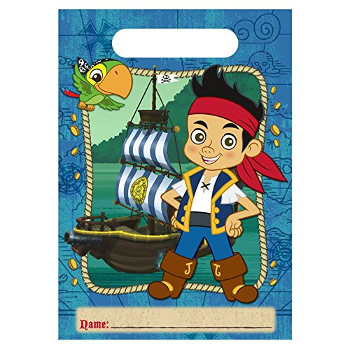 Hallmark - Disney Jake and the Never Land Pirates Treat Bags