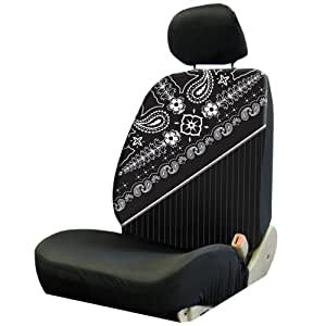 plasticolor 008654r01 paisley low back seat cover automotive. Black Bedroom Furniture Sets. Home Design Ideas