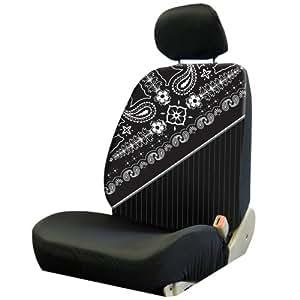 plasticolor 008654r01 paisley low back seat cover automotive. Black Bedroom Furniture Sets. Home Design Ideas
