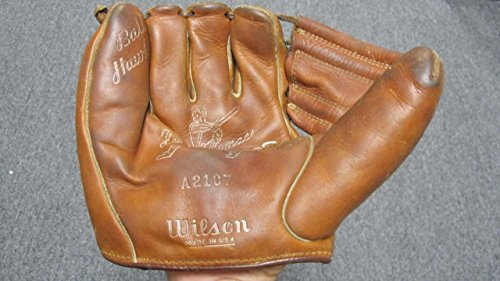 WILSON VINTAGE BASEBALL GLOVE FRANK THOMAS MODEL A2107 LEFT HANDED 0