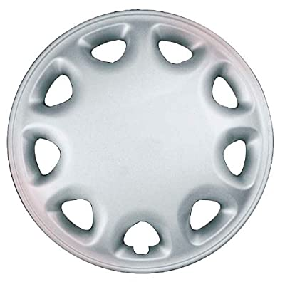 CCI IWC155-13S 13 Inch Clip On Silver Finish Hubcaps - Pack of 4