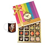 Chocholik Belgium Chocolates - Impressive Collection Of Chocolates And Truffle Gift Box With Diwali Special Coffee...