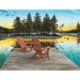Ravensburger Lake Chairs - 300 Piece Large Format Puzzle