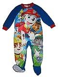 Nickelodeon Paw Patrol One Piece Blanket Sleeper/Pajamas Toddler Boys Size 4T