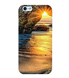 PrintVisa Travel Beach Sunset Design 3D Hard Polycarbonate Designer Back Case Cover for Apple iPhone 6S