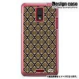 HTC J ISW13HTハード ケース カバー ジャケット/1010_紋章柄/CR