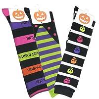 TeeHee Halloween Women's Knee High Socks Multi pack