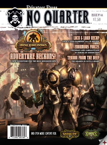 Privateer Press No Quarter Magazine #44 - 1