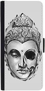 Snoogg Buddha The Creator Designer Protective Flip Case Cover For Xiaomi Redm...