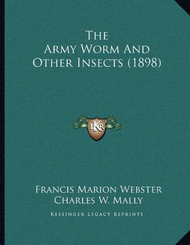 The Army Worm and Other Insects (1898)