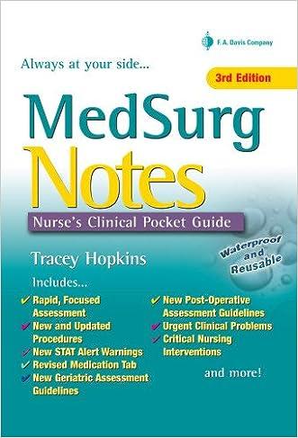 Med Surg Notes: Nurse's Clinical Pocket Guide (Nurse's Clinical Pocket Guides)