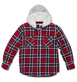 LITTLE BOYS Milton Flannel Hoodie