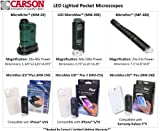 Carson MicroMax Plus LED Microscope Adapter works with iPhone 4/4S White (MM-250) Toy Kids Play Children