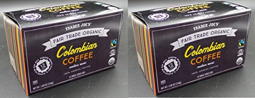 Trader Joe S Organic Columbian Coffee 12 Single Serve Cups