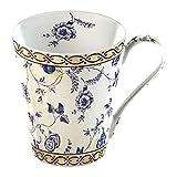 Creative Tops 1-Piece Fine Bone China V&A China Mug in a Gift Box Georgian Trail Cream