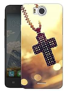 "Christ Locket Printed Designer Mobile Back Cover For ""Google Infocus M530"" By Humor Gang (3D, Matte Finish, Premium Quality, Protective Snap On Slim Hard Phone Case, Multi Color)"