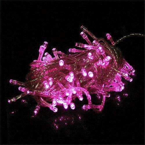 Ledspring 100 Led Light String Christmas Party Fairy Light(Pink)