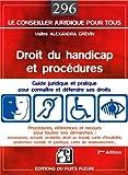Image de Droit du handicap et procédures : Guide juridique et pratique pour connaître et défendre ses droits