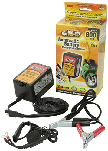 Wirthco 20025 Battery Doctor 6V/12V 900Ma Fully Automatic Battery Charger/Maintainer