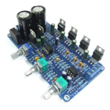 DROK® TDA2030A 2.1 Digital Stereo Power Amp Kits 2 Channel Subwoofer Audio Amplifier Circuit Board for DIY